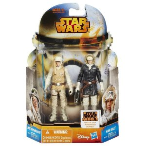 Boneco Star Wars Rebels Saga Legends - Luke Skywalker & Han Solo