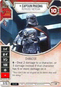 SW Destiny - Captain Phasma Ruthless Tactician