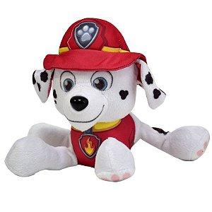 Patrulha Canina Pelúcia 15 cm - Marshall