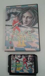 Game Mega Drive - Space Harrier