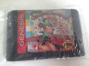 Game para Mega Drive - Mickey's Ultimate Challenge