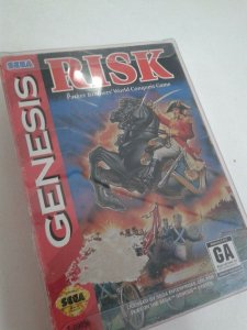 Game Mega Drive - Risk