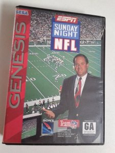 Game para Mega Drive - Espn Sunday Night NFL