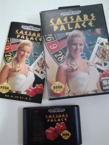 Game Mega Drive - Caesars Palace