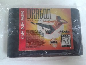 Game Mega Drive - Dragon The Bruce Lee Story