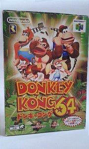 Game Para Nintendo 64 - Donkey Kong 64 Completo NTSC-J