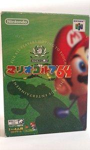 Game Para Nintendo 64 - Mario Golf Completo NTSC-J
