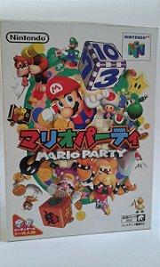 Game Para Nintendo 64 - Mario Party Completo NTSC-J