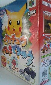 Game Para Nintendo 64 - Hey You, Pikachu! Completo NTSC-J