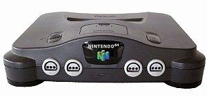 Console Nintendo 64 NTSC-US com 2 controles