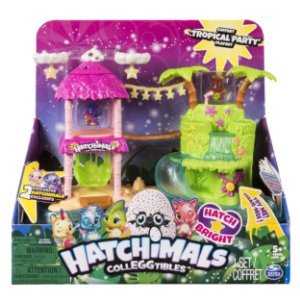 Hatchimals Colleggtibles Playset Ilha Tropical