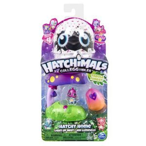 Hatchimals Colleggtibles Casinhas Iluminadas Floresta