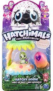 Hatchimals Colleggtibles Casinhas Iluminadas Praia