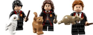 LEGO Minifigures 71022 - Harry Potter, Hermione Granger e Rony Weasley