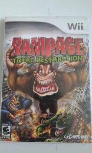 Game Nintendo Wii - Rampage: Total Destruction NTSC/US