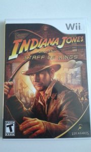 Game Nintendo Wii - Indiana Jones And The Staff Of King NTSC/US