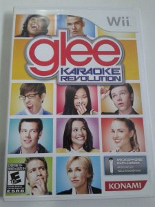 Game Nintendo Wii - Karaoke Revolution: Glee NTSC/US