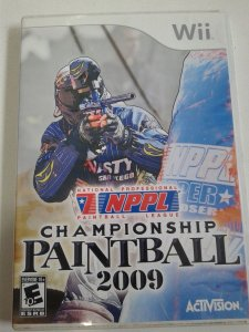 Game Nintendo Wii - NPPL Championship Paintball 2009 NTSC/US