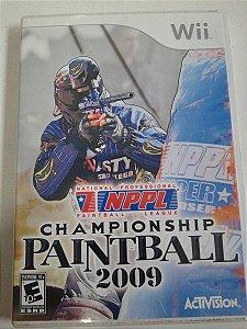 Game Nintendo Wii - NPPL Championship Paintball 2009 NTSC/US