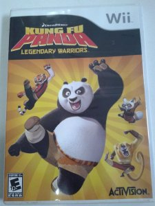Game Nintendo Wii - Kung Fu Panda Legendary Warriors NTSC/US