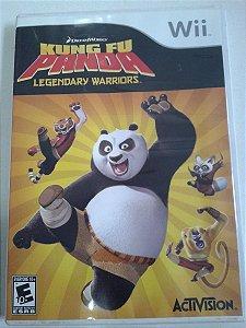 Game Nintendo Wii - Kung Fu Panda Legendary Warriors NTSC/US