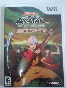 Game Nintendo Wii - Avatar: The Last Airbender NTSC/US
