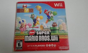 Game Nintendo Wii - New Super Mario Bros. Wii NTSC/US