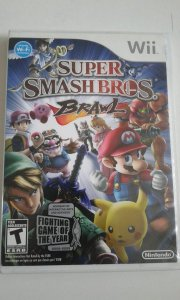 Game Nintendo Wii - Super Smash Bros. Brawl NTSC/US