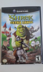 Game para GameCube - Shrek Extra Large NTSC/US