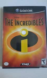 Game para GameCube - The Incredibles NTSC/US