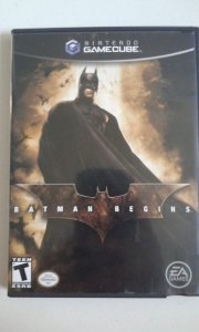 Game para GameCube - Batman Begins NTSC/US