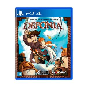 Game para PS4 - Deponia