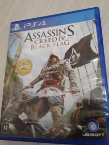Game Para PS4 - Assassin's Creed IV Black Flag