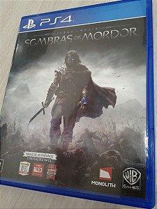 Game Para PS4 - Sombras de Mordor