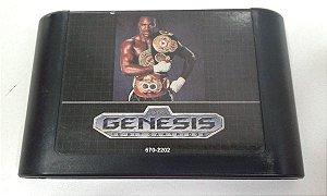 Game para Mega Drive - Evander Holyfield's Real Deal Boxing