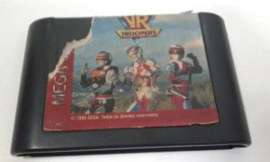 Game para Mega Drive -  Vr Troopers