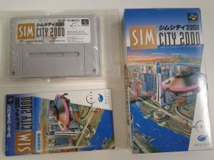Game Para SNES / SFC - Sin City 2000 Completo