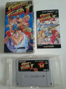 Game Para SNES / SFC - Street Fighter 2 Completo