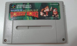 Game Para SNES / SFC - Donkey Kong Country