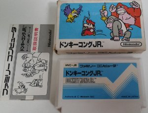 Game Para Famicom - Donkey Kong Jr