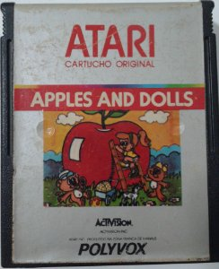 Game Para Atari - Apples and Dolls
