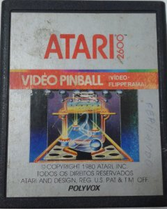 Game Para Atari - Video Pinball