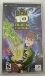 Game para PSP - Ben 10 Alien Force