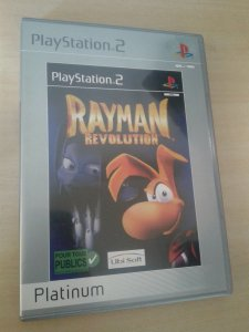 Game Para PS2 - Rayman Revolution PALM/EU