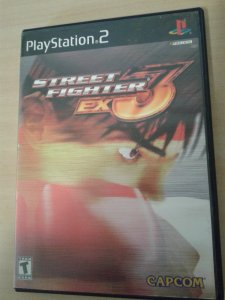 Game Para PS2 - Street Fighter Ex3 NTSC/US