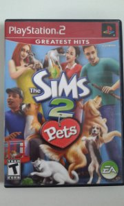 Game Para PS2 - The Sims 2 Pets NTSC/US