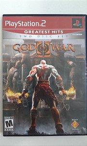 Game Para PS2 - God of War 2 NTSC/US