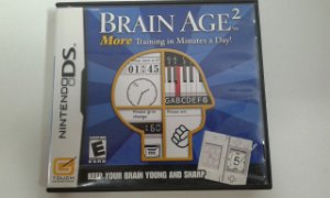 Game para Nintendo DS - Brain Age 2 More Training in Minutes a Day!