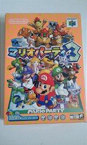 Game Para Nintendo 64 - Mario Party 3 Completo NTSC-J