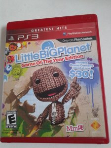 Game para PS3 - Little Big Planet